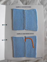 Sewing up (phil_1987) Tags: reed silver knitting 4 machine course yarn correspondence ply knitmaster