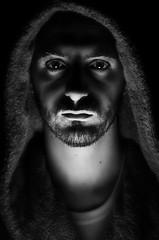 (Damien Cox) Tags: uk gay portrait blackandwhite selfportrait man male me self ego myself beard mono nikon masculine moi homo homosexual queer scruff stubble i damiencox dcoxphotographycom