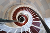 Spiral staircase, The Isle of May Lighthouse, Fife (iancowe) Tags: lighthouse spiral stair view fife interior may stevenson forth staircase isle anstruther firth isleofmay northernlighthouseboard nlb robertstevenson lighthousetrek wbnawgbsct