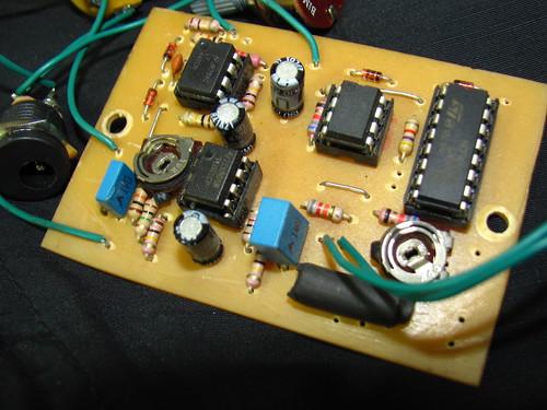 My Supa-Trem Temeter Tremulator pcb