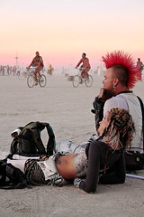 Punk With a Panflute (Little Lioness) Tags: travel sunset home oregon sunrise canon awesome nevada extreme taxidermy burningman blackrockcity drugs booze nudity theman burners theburn bman theplaya thetemple burntheman bearslayer whatisburningman rightsofpassage sarahbartell niayh naturepunk burningmanfestival2011 blackrockcityburn cougarheaddress