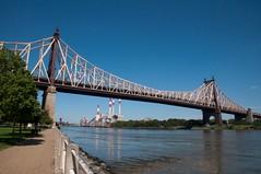 The Queensboro and Factory (rocketdogphoto) Tags: usa newyork manhattan eastriver queensborobridge rooseveltisland