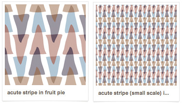 Acute Stripe in Fruit Pie