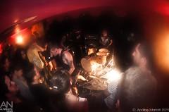 Birds In Row - Paris, Le Caf de Paris - 07/09/2011 (Apo [Photographe Alternativ News]) Tags: show paris france caf birds rock de concert punk live row fisheye hardcore lastfm:event=2027263