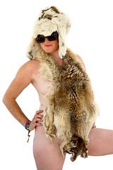 CCC (ScottRKline) Tags: sunglasses fur burningman freckles pelt