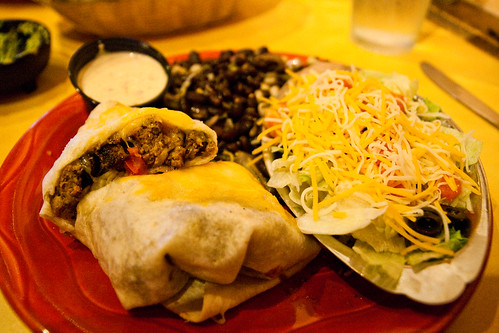 Chorizo Burrito at Franklin Inn