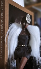 Tag Game: Doll & Book (kendrakiss) Tags: dolls nadja alexandermcqueen fashionroyalty nuface hjcouture