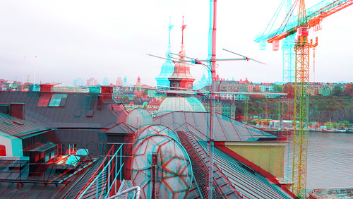 Stockholm trip in 3D anaglyph