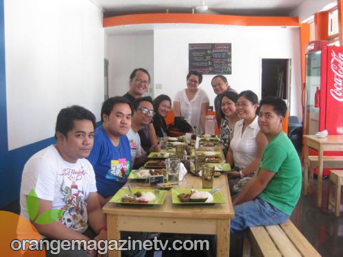 Food Bloggers at Empanada Nation