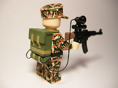 Sturmgewehr 44 vampir LEGO (MR. Jens) Tags: world two germany war lego wwii ss german ww2 wh vampir jger brickarms stg44 nachtjaeger