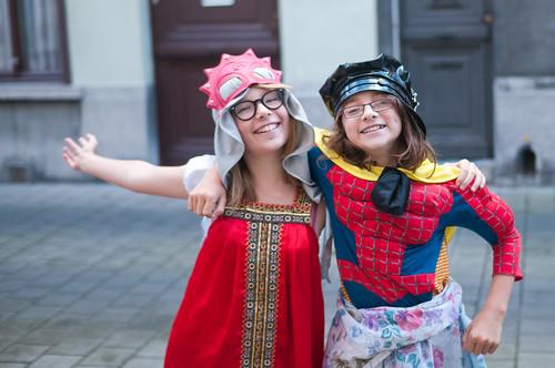Zelie en Anna