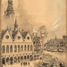 1918? Albert Robida - Medieval Paris dedicated to his friend Auguste Autrand on the occasion of the latter's appointment as Prefect of the Seine (Paris).