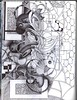 fish tangle-incomplete (bjw-draw) Tags: fish line ballpointpen zentangle patternt artjournalsketchbook