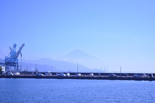 清水港の辺り