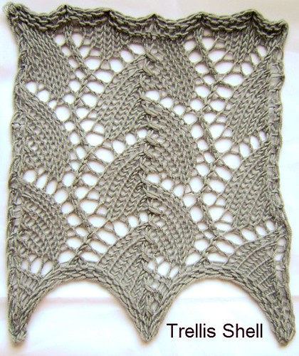 Knitting Patterns Shell Lace : 10. Lace The Walker Treasury Project