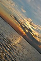 Venice's Sunset (saramissenti) Tags: venice sunsetonthesea romanticsunset