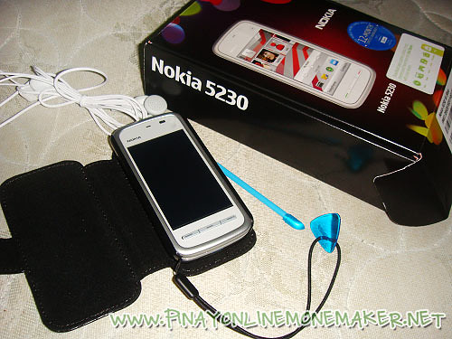 Nokia 5230 I won from DJ Mo Twister's Twitter giveaway
