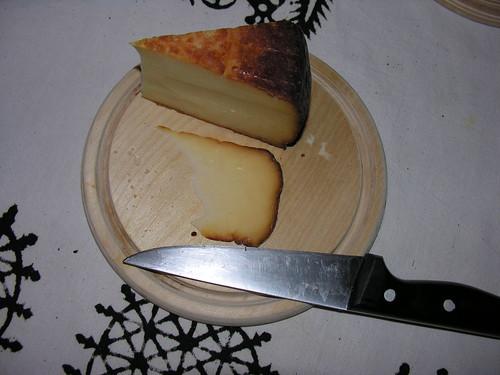 Çerkez füme peyniri felülről
