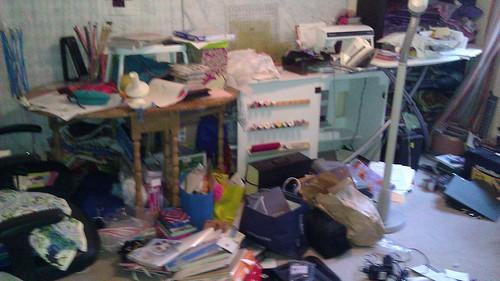 Sewing room redo...in progress