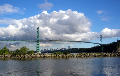 Lion's Gate Bridge, Stanley Park, and Vancouver