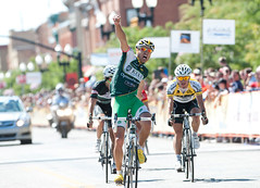 Jesse Anthony wins first stage of Tour of Utah