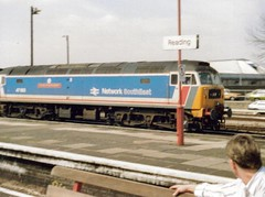 Reading, 30th August 1989, 47583 (elkemasa) Tags: reading 1989 class47