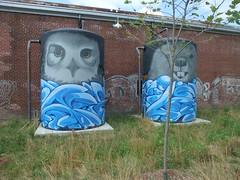 Brickworks owl & beaver