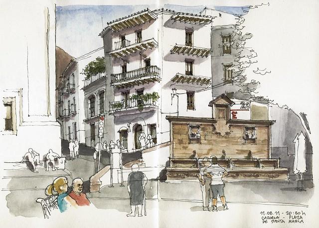 Cazorla, Plaza de Sta. María