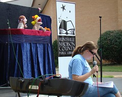 Education Celebration (Huntsville Madison County Public Library) Tags: school kids education libraries families outreach puppetshow storytelling 2011 baileycove hmcpl grissomhighschool sddss
