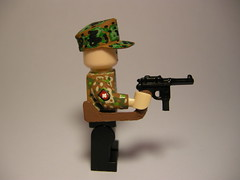 Mauser c96 custom LEGO (MR. Jens) Tags: world two one war lego wwi ss ww2 ba ww1 lw wh luftwaffe wehrmacht waffen mauser broomhandle brickarms