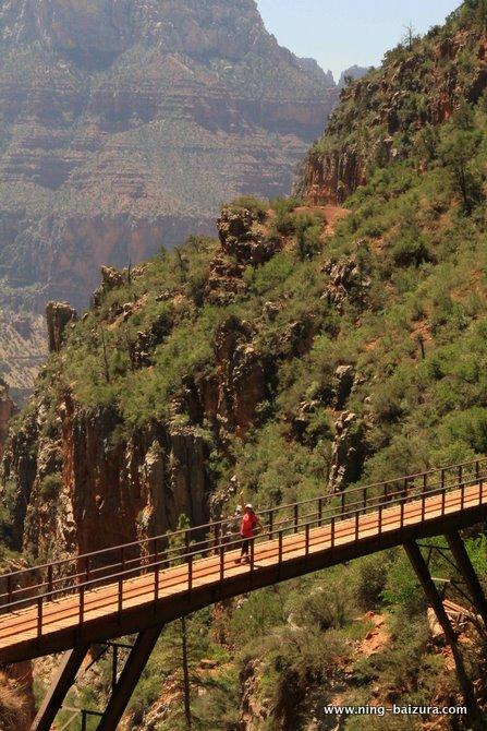 Redwall Bridge Grand Canyon