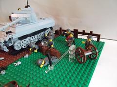 DSCF1202 (phelipe247) Tags: toys tank lego contest plastic ww2 americans panther germans brickarms brickmania