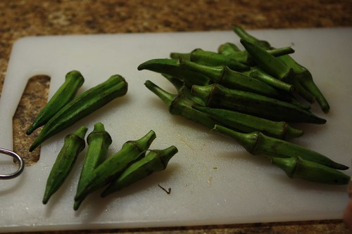 Okra for Pickling
