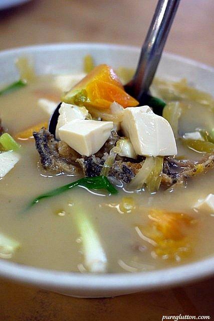 ham choy soup