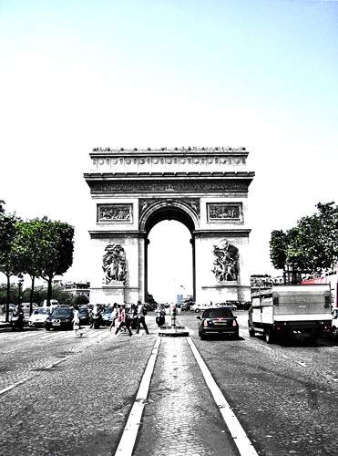 Arc de triomphe, Paris HDR 500