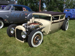 1928 Ford Model A Sedan Hot Rod