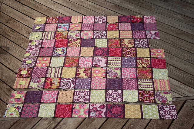 """100 5.5"""" squares.   in strips..."""