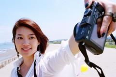Self-shot (Chieh-Yu) Tags: 35mm kodak taiwan 台灣 nikonf2 f28 miaoli 苗栗 yuanli 苑裡 攝團 newportra400 facebookimpro 海岸里