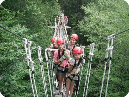 Zip line canopy tour! - smaller