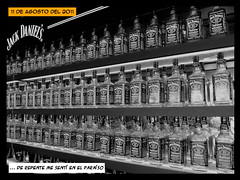 217/365 (Kr3stO) Tags: blancoynegro whiskey estilo proyect jackdaniels fotografa cmic blackorwhite 2011 szigetfestival proyecto365 canonpowershotsx130is