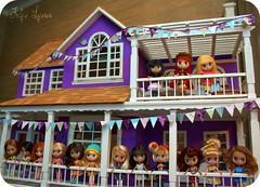 Petite Blythe & Their Doll House