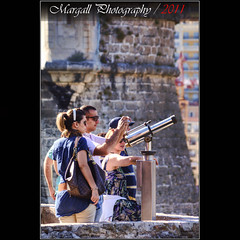 Tourists in Monaco - HDR (Margall photography) Tags: castle photography tourist montecarlo monaco marco hdr galletto margall