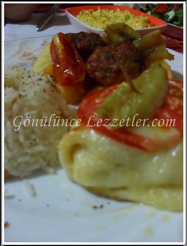 iftar yemek tabağı