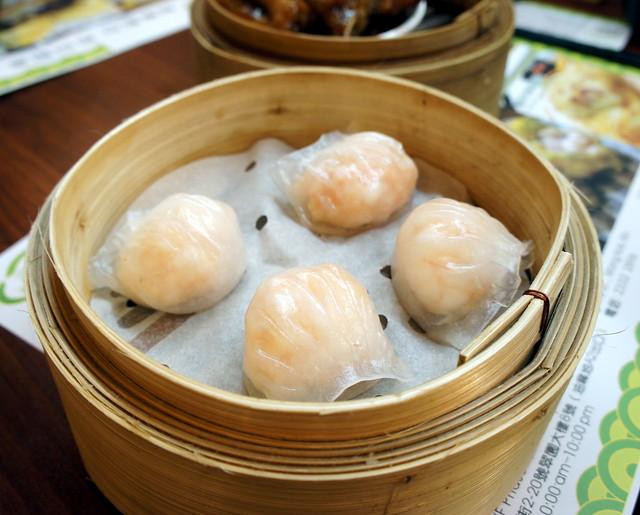 Tim Ho Wan: Har Gao (prawn dumplings)