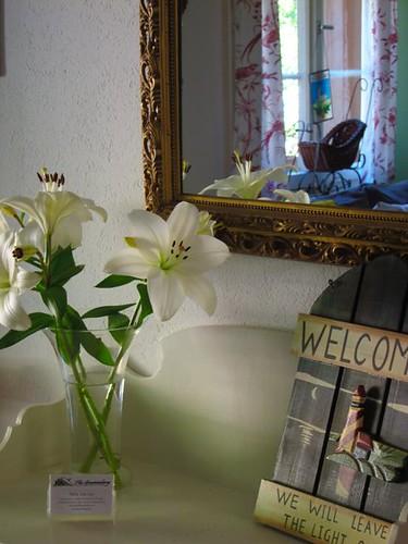 hotel flowers entry by Danalynn C
