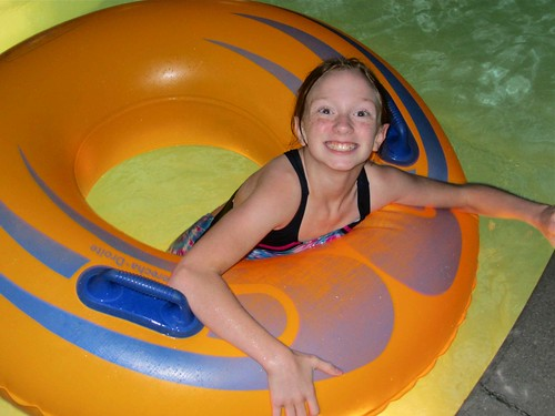Mat on the Lazy River