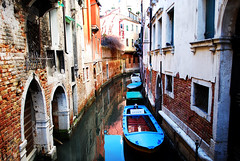 Venice Side Canal
