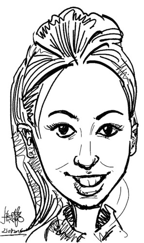 digital live caricature on HTC Flyer for HTC Weekend - Day 2 - 17