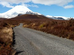 Road into the Wilderness (sallyNZ) Tags: newzealand mtngauruhoe activevolcano scavenger7 taraweranationalpark