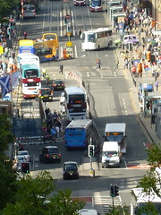 Princes Street Traffic (DJN...) Tags: scotland edinburgh scottish august lothians lothian 2011 embra